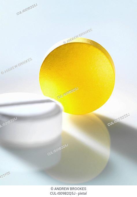 Variety of medical pills