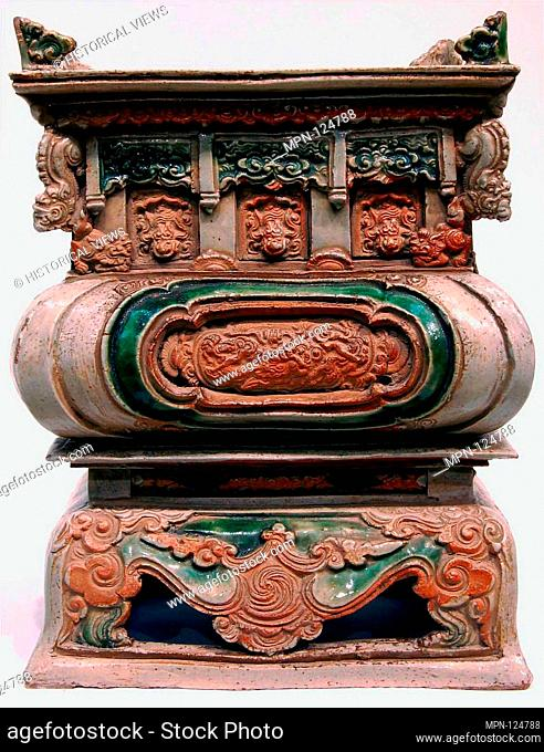 Incense burner. Date: cyclical dated listed in donor inscription, most probably 1635; Culture: Vietnam (Hai Zhong Province