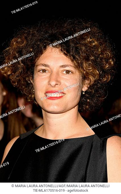 Ginevra Elkann during the red carpet of film Hands of stone, at 69th Cannes Film Festival, Cannes, FRANCE-16-05-2016