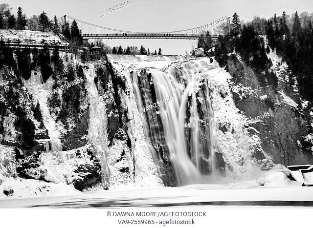 Chute Montmorency, Montmorency Falls, Quebec City, Canada