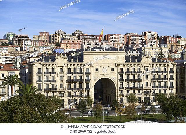 Banco de Santander, Santander, Cantabria, Spain, Europe