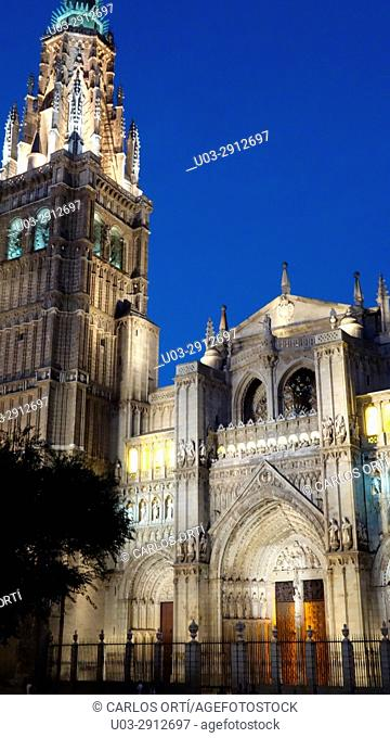 Cathedral of Toledo, Castilla la Mancha, Spain