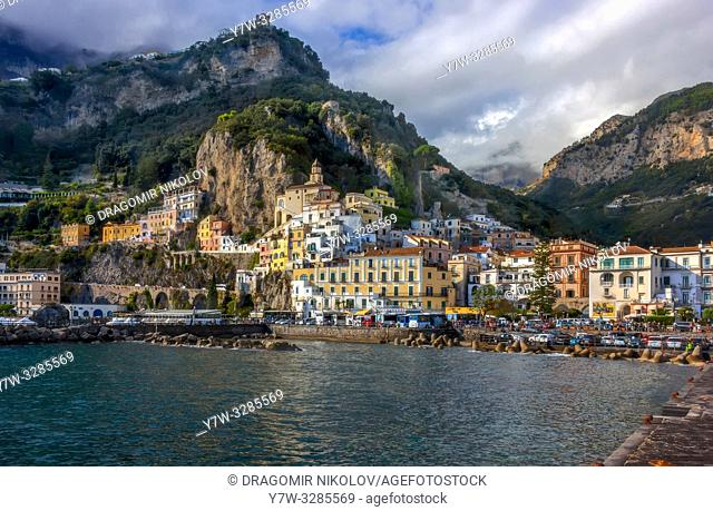 Amalfi cost in Italy. . I am absolutely sure Amalfi is the most beautiful town by Naples cost. I was there in October 2018