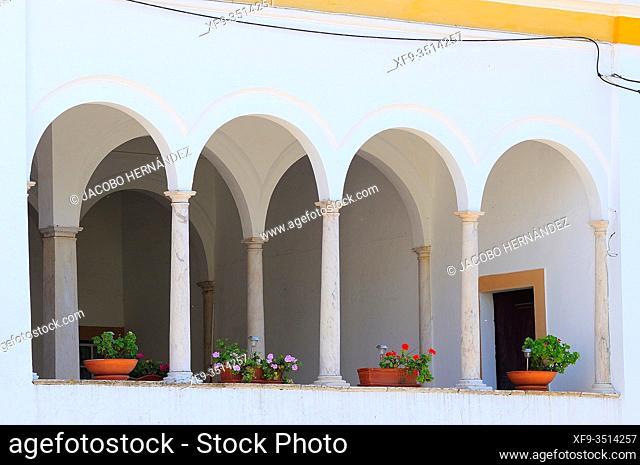 Casa dos Arcos. 16th century. Vila Viçosa. Alentejo. Portugal