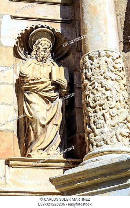 Santa Maria Maggiore church Montblanc, Tarragona Spain