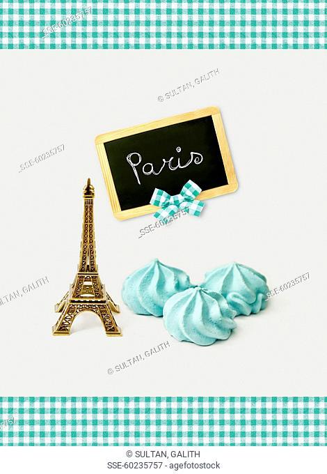 Tasting meringues in Paris