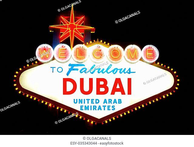 Welcome to Dubai