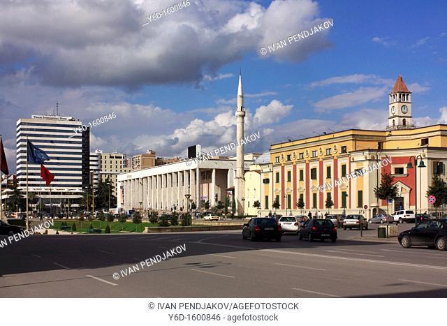 Skanderbeg Square, Tirana, Albania