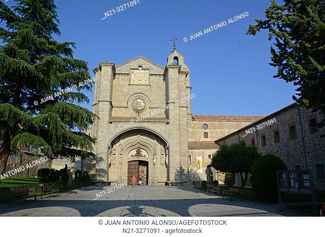 Royal Monastery of Santo Tomas. Avila, Castilla-Leon, Spain, Europe