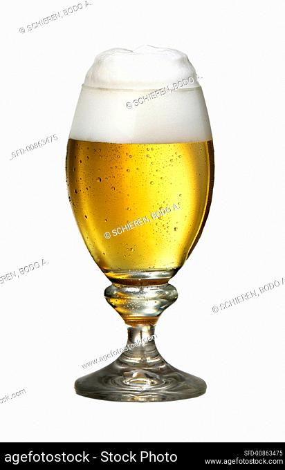 A Pils beer in glass