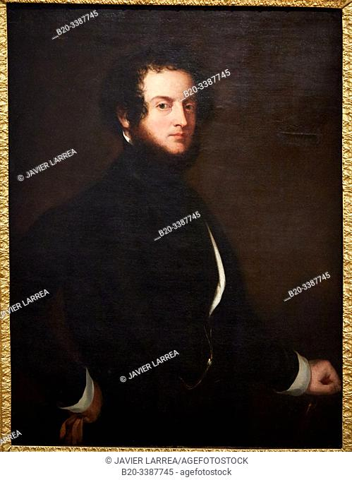 """""""""""""""Autoportrait"""""""", 1845, Alfred, Comte d'Orsay, Petit Palais Musée des Beaux Arts de la Ville de Paris, France, Europe"""