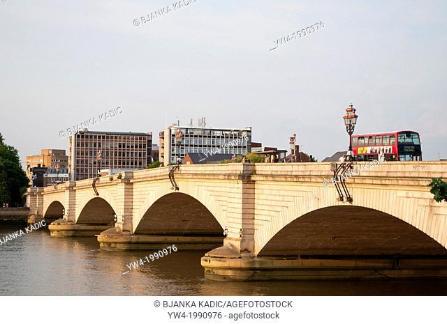 Putney bridge, London, SW15, UK