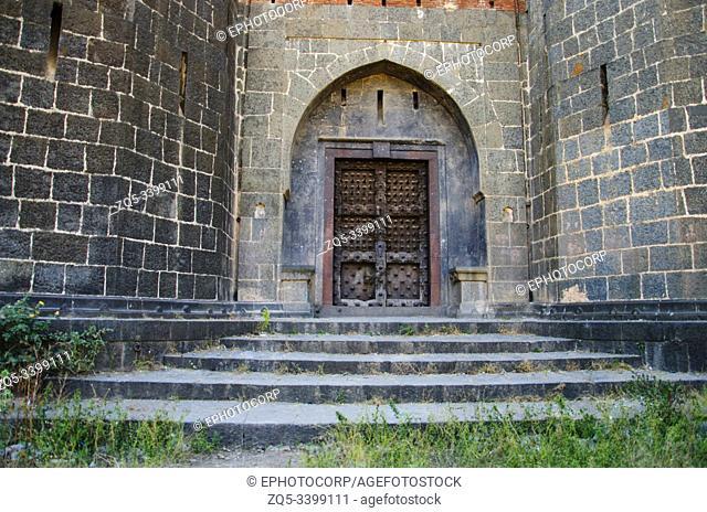 Entrance of Purandare Wada at Saswad, Maharashtra, India
