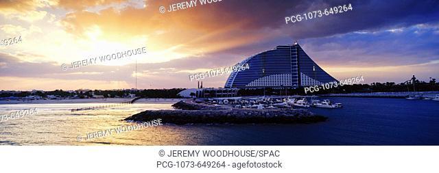 Jumeirah Beach Hotel at Sunrise