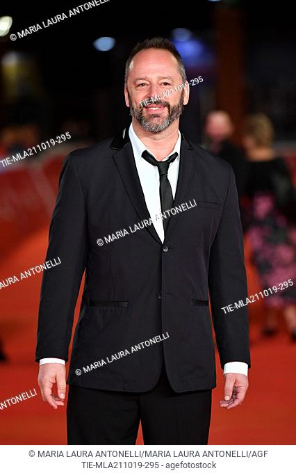 Gil Bellows poses during the red carpet for 'Drowing' at the 14th annual Rome Film Festival, in Rome, ITALY-20-10-2019