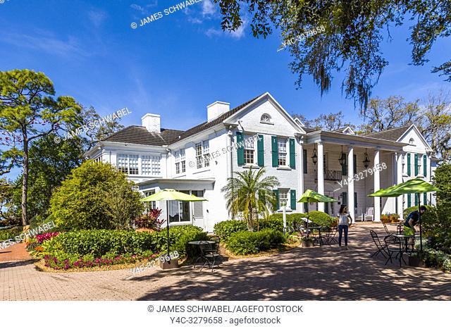Christy Payne Mansion in Marie Selby Botanical Gardens in Sarasota Florida