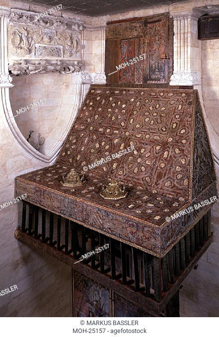 Salamanca/ Alte Kathedrale, Orgelpodest, Capilla de Anaya ,16.Jh