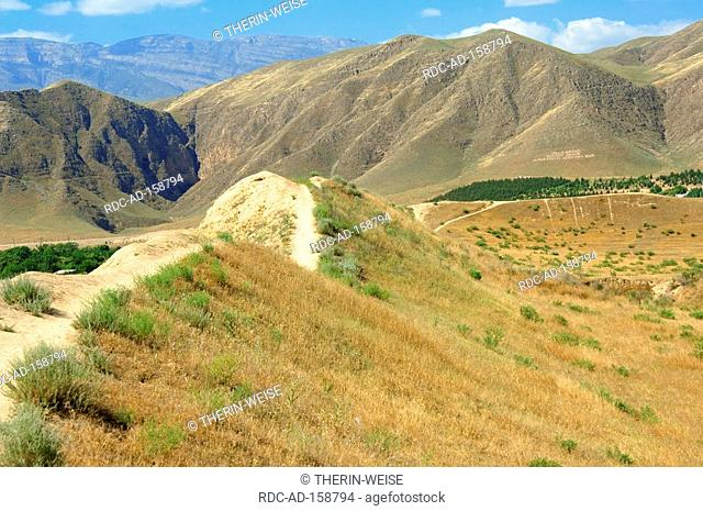 Nisa Kopet Dag mountains Ashgabat Turkmenistan Asgabat old capital of the Parthians