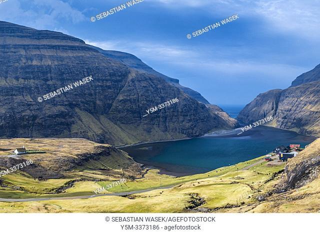 Saksun, Streymoy, Faroe Islands, Denmark