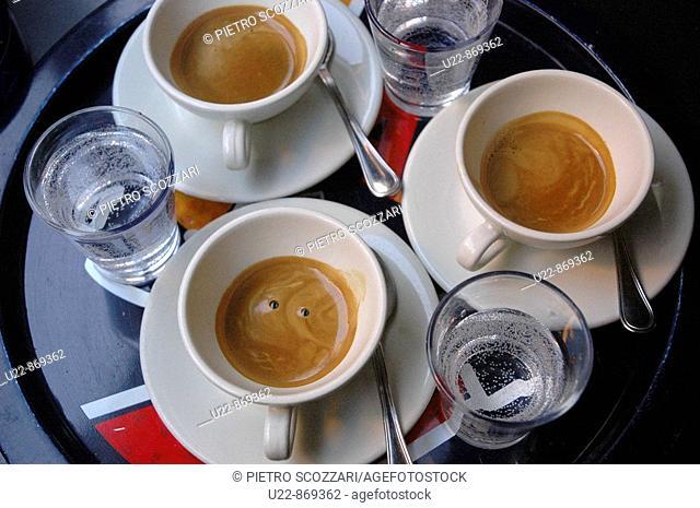 Bologna (Italy), espresso coffee