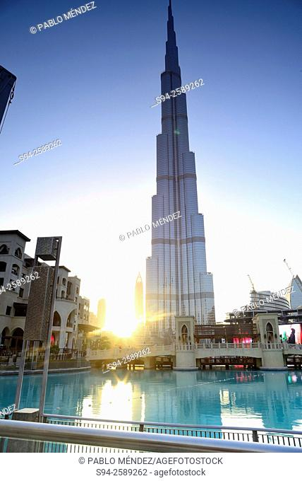 Burj Khalifa in Downtown Dubai, United Arab Emirates