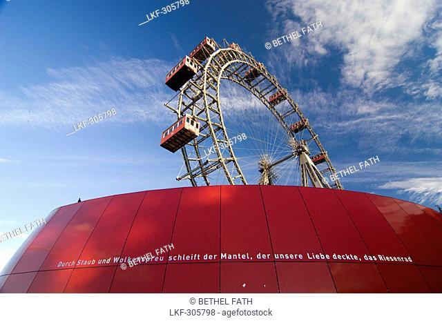 Big wheel, Prater, Vienna, Austria, Europe