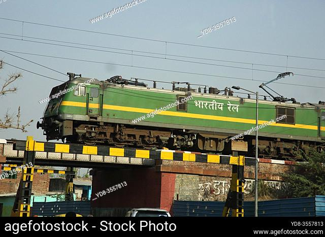 Train in Agra, India