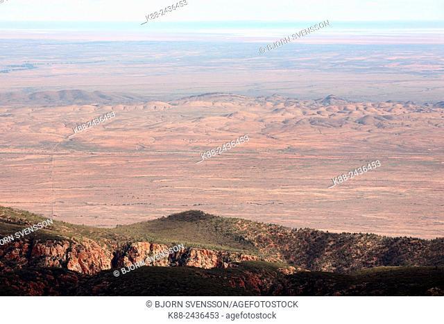 Outback scenery. Flinders Ranges, South Australia