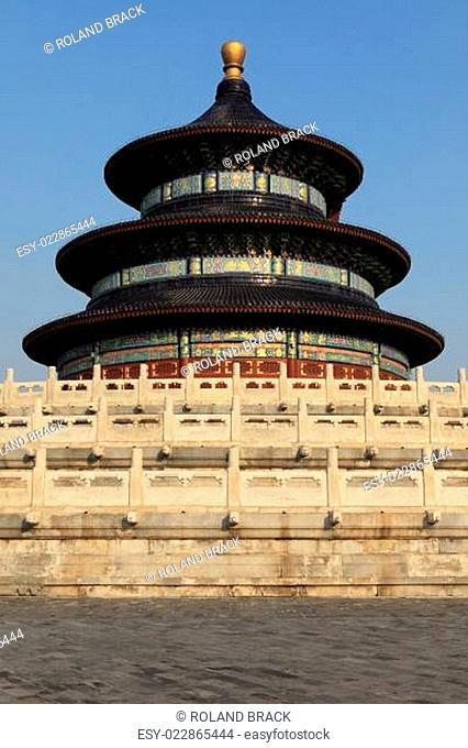 Der Temple of Heaven in Peking China