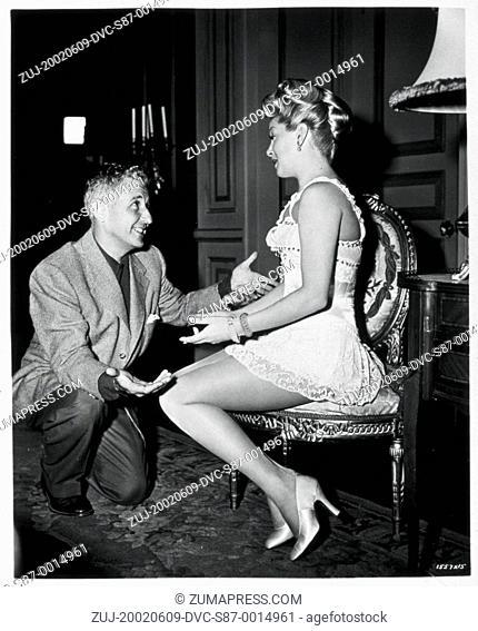 1952, Film Title: MERRY WIDOW, Director: CURTIS BERNHARDT, Studio: MGM, Pictured: CURTIS BERNHARDT. (Credit Image: SNAP/ZUMAPRESS.com)