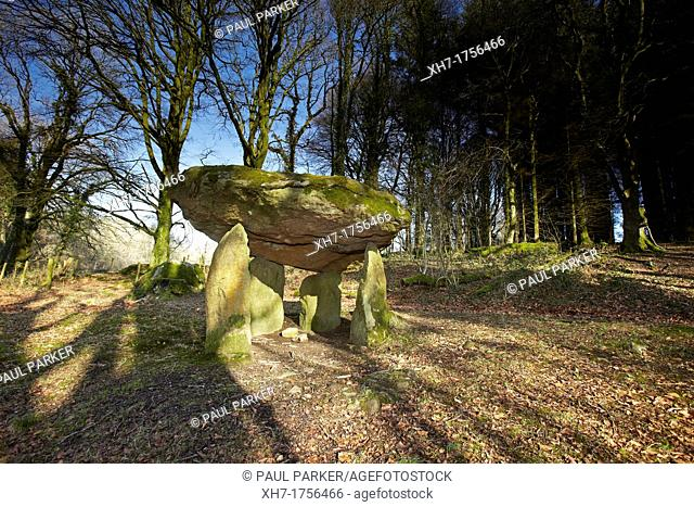 Gwal y Filiast Neolithic Tomb, Carmarthenshire, West Wales, UK