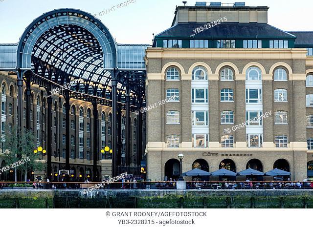 Hay's Galleria, Southwark, London, England