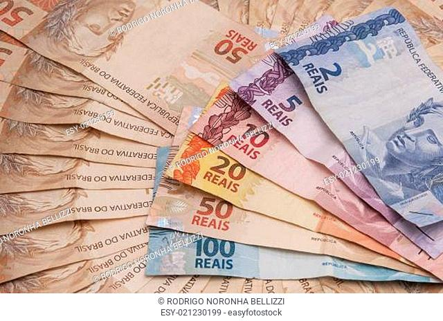 Brazil Real Exchange Stock Photos And