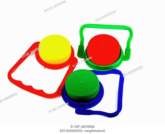plastic caps and handles