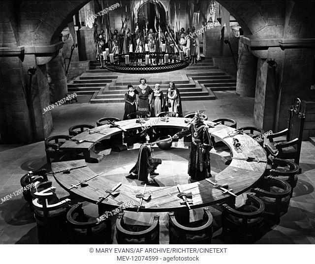 Debra Paget, Sterling Hayden, Janet Leigh, Barry Jones & Robert Wagner Characters: Ilene, Sir Gawain, Princess Aleta, King Luke