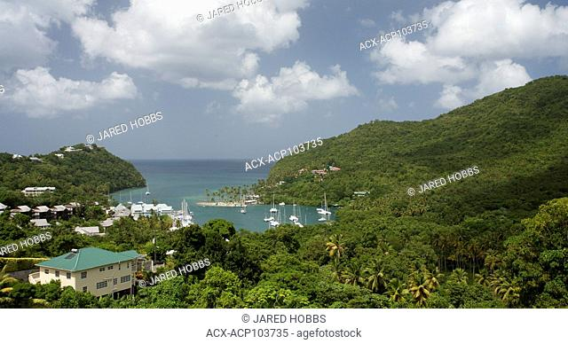Rainforest, St. Lucia, Central America, Community Culture