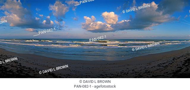 Atlantic Ocean Waves, Canaveral National Seashore, Florida, USA