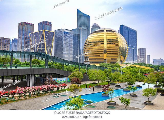 China, Hangzhou City, Jianggan District, Qianjiang New City, Intercontinental Hotel