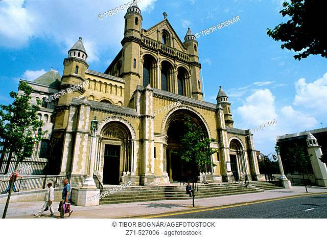 St. Anne's Cathedral. Belfast. Northern Ireland. UK