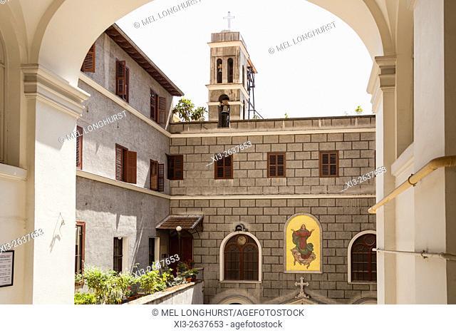 Santa Maria Draperis Church, Saint Mary Draperis Church, Istiklal Caddesi, Beyoglu, Istanbul, Turkey