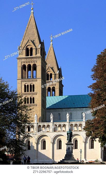 Hungary, Pécs, St Peter Basilica