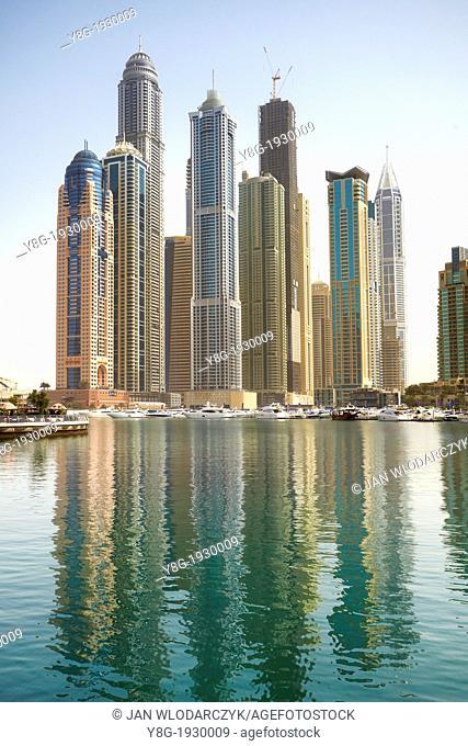 Dubai Marina, modern architecture, Dubai, United Arab Emirates