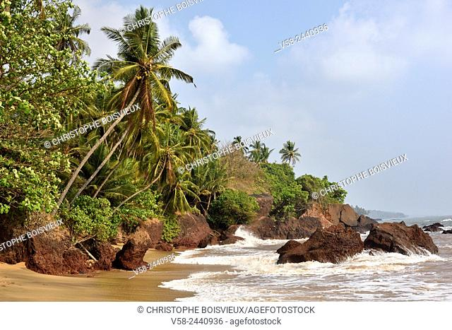 India, Kerala, The Lakshadweep Sea near Kannur