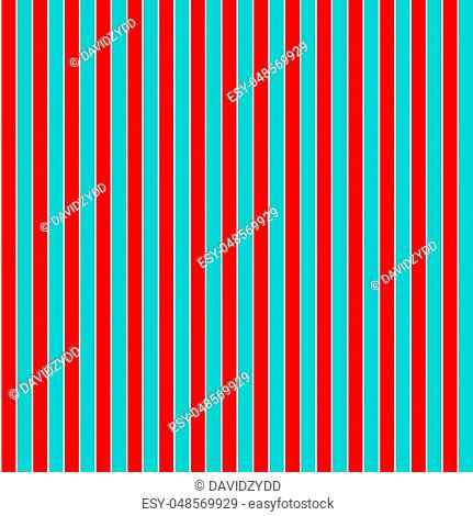 Red and cyan seamless vertical line background design