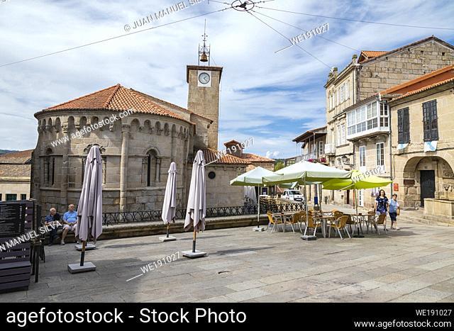 Streets of Allariz, Ourense Province, Galicia, Spain