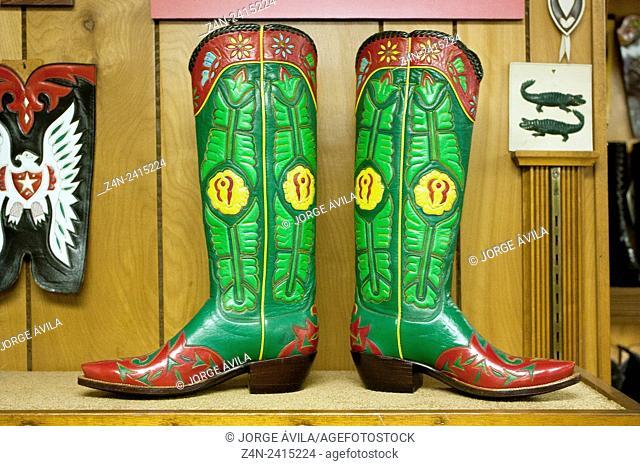 Leather boots, Little Boot, San Antonio, Texas