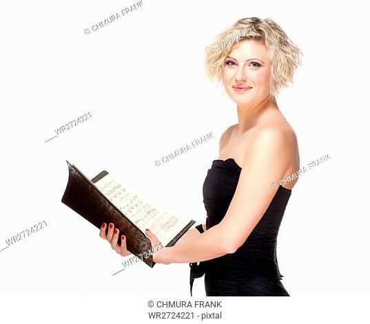 Opera Singer Singing