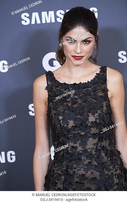 Linda Morselli attends GQ Men of the Year Awards 2019 at Palace Hotel on November 21, 2019 in Madrid, Spain