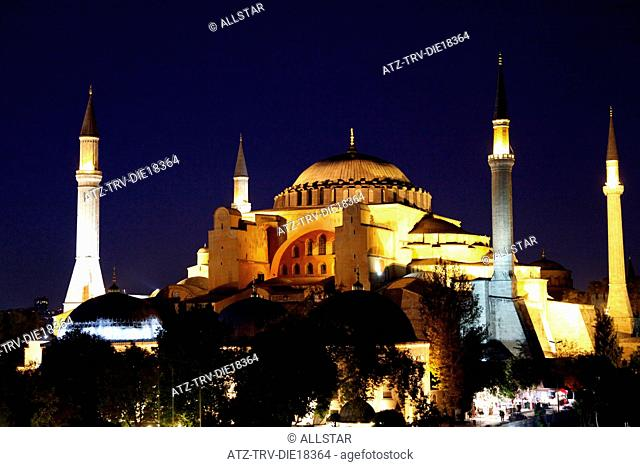 HAGHIA SOPHIA MOSQUE, AYA SOFYA; SULTANAHMET, ISTANBUL, TURKEY; 03/10/2011