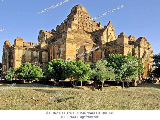 the ancient temple city of Pagan, Bagan at Myanmar, Burma, Birma